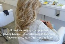 Blowouts by #StylingLounge / Amazing blowouts inspired on Fashion cities by our hairextension team @StylingLounge ❤️ www.stylinglounge.be Pin your favorites