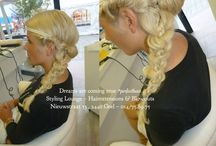 Upmini's, Updo's & Braids by #StylingLounge / Amazing updo's & braids by our hairextension team @StylingLounge ❤️ www.stylinglounge.be  Pin your favorites