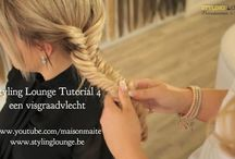 How to Youtube #tutorials DIY by #StylingLounge / Easy & glamorous tutorials step by step by our hairextension team @StylingLounge ❤️ www.stylinglounge.be  Pin your favorits