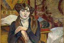 Lucy Krogh / Musa y amante de artistas de la Montparnasse