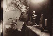 Hilma af Klint / Hilma af Klint (26 de octubre de 1862 - 21 de octubre de 1944), artista sueca y pionera del arte abstracto.