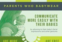 Babywearing Info / Babywearing benefits, washing instructions, special circumstances, etc.