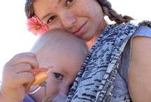 Breastfeeding in a Carrier / links to videos and helpful hints to make nursing in a carrier easier
