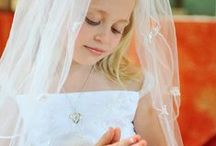 First Communion Favorites / First Communion Gifts Beautiful personalized jewelry and gifts for girls for first communion.