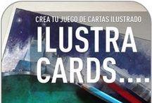 ILUSTRA CARDS / Fomenta tus dotes narrativas + Literatura visual:  Adéntrate en el mundo de los juegos de cartas narrativos y aprende a aplicar tus técnicas favoritas de ilustración para confeccionar tus propios naipes.