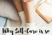 Self care / Something I desperately need to work on.