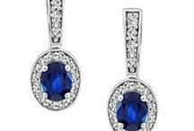 September Sapphires / Sapphire jewellery gift ideas for loved ones with birthdays in September!