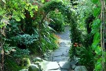Kulkuväyliä, reunakiviä (pathways, passages and edges)
