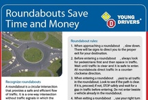 Roundabouts / Tips to help you drive #roundabouts #traffic circles   Driving school Young Drivers of Canada https://www.yd.com