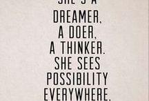 Inspiration and motivation