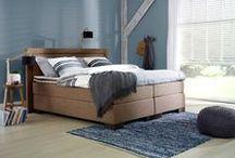 Een stoere landelijke slaapkamer - Stijl, inrichting & ideeën / Wil ...