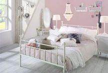 Een romantische slaapkamer - Inrichting, ideeën & voorbeelden / Wil ...
