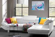 Een moderne woonkamer - Design, inrichting & ideeën / Wil je een moderne woonkamer? Laat je inspireren door de interieur-, inrichting- en stijlideeën van Leen Bakker.