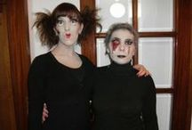 Hair and Makeup by Monica Ribau / This is about my work Hair, makeup and halloween