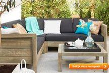 Lekker loungen - tips en ideeën voor de ideale loungeset in jouw tuin / Hier vind je tuinideeën, inspiratie, tips rondom loungesets en decoratie voor jouw tuin, balkon of dakterras!