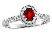 July Rubies / Ruby jewellery gift ideas for loved ones with birthdays in July!