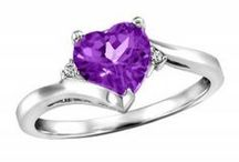 February Amethysts / Amethyst jewellery gift ideas for loved ones with birthdays in February!