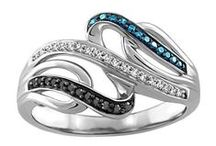 Colored Diamond Collection / Our new color enhanced brown, blue, and black diamond collection!