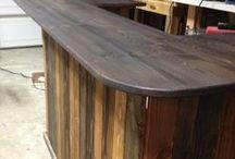 Outdoor leaner / bar