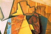 20th cubism / Full name of Picasso: Pablo Diego José Francisco de Paula Juan Nepomuceno María de los Remedios Cipriano de la Santísima Trinidad Martyr Patricio Clito Ruíz y Picasso