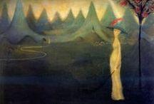 20th Rodin and Munch influence in czech art