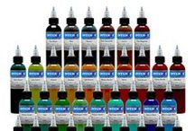54 Color Tattoo Ink Set / Our 54 color tattoo ink set packs a punch and will satisfy your needs as a tattoo artist. Take a look at the great colors it provides right here.