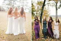 Bridemaids Style and Gift Ideas / Bridesmaids Style guide for the big day and gift ideas