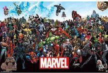 Marvel / Marvel. Schon alleine der Name lässt bei Fans den Puls höher schlagen.. Zum Marvel-Universum gehören Helden wie Spider-Man, Hulk, Iron Man, Captain America, Thor oder auch die X-Men und die Die Fantastischen Vier. Wer sich Poster dieser Marvel-Helden aufhängen oder T-Shirts zum Fandom tragen möchte, ist bei Close Up genau richtig.