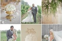 Top Wedding Ideas / Flower, decor and dress colour trends for your wedding.