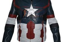 Captain America Avengers Age of Ultron Jacket / LeathersJackets.com offers Captain America Avengers Age of Ultron Jacket on discount price with free shipping.