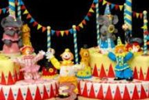 Circus Cakes and Cake toppers / Love Circus