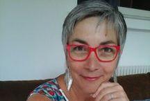 Cheveux gris femme / Cheveux gris la cinquantaine