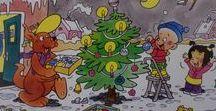 Krystfeest/ kerstfeest / Ferhalen, kleurplaten, spultsjes en 'downloads' om aktiviteiten mei pjutten te dwaan mei it tema krystfeest. Verhalen, kleurplaten, spelletjes en 'downloads' om activiteiten met peuters te doen met het thema kerstfeest.