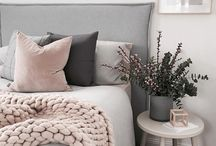 HOME | BEDROOM DECOR / Pretty bedroom inspiration