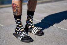 Happy Socks On Boys / http://www.urbanlux.sk/happy-socks.html / by Urbanlux