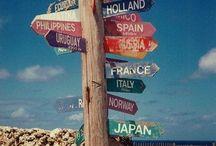 Reizen en plaatsen / travel