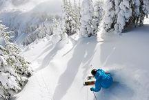 Ski, baby, ski!