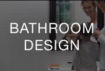 Bathroom Design / Updating your bathroom doesn't have to be costly or time-consuming. Browse our products and tips below for getting your dream bathroom design.