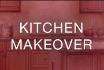 Kitchen Makeover / Refresh the look of your kitchen with a variety of design choices—and DIY with some of our remodel tips!