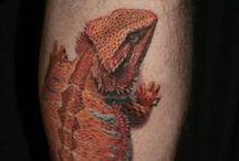 Tattoos Echsen Lizards