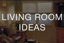 Living Room Ideas / Living room remodel ideas that are budget-friendly—it's time to design the living space you've been dreaming of.