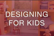 Designing for Kids / Design tips for kid's bedrooms—children's bedroom remodel ideas that your kids are sure to love!