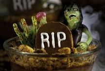 Halloween inspirations / Ideas for Halloween including foods, drinks, & decorations