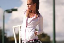 Finch Tennis Clothes / Women's tennis clothes & activewear featuring unique feminine designs,  a flattering fit, and top quality fabrics that can be worn on and off the tennis court. Inspiration, work in progress and outcomes - Finch Activewear Collection by Denise Cronwall.