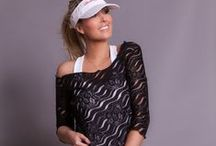 Venezia Tennis Clothes / Women's tennis clothes & activewear featuring unique feminine designs,  a flattering fit, and top quality fabrics that can be worn on and off the tennis court. Inspiration, work in progress and outcomes - Venezia Activewear Collection by Denise Cronwall.