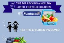 Symbiotics Infographics / Healthy Living Infographics