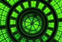 Groen / Fris, belofte, rust en ruimte, dat is groen.....