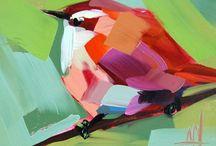 acrylic / Acrylic paintings