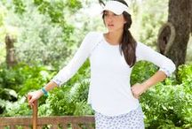Lavender Fields Collection / Women's tennis clothes & activewear featuring unique feminine designs,  a flattering fit, and top quality fabrics that can be worn on and off the tennis court. Inspiration, work in progress and outcomes - Lavender Fields Activewear Collection by Denise Cronwall.