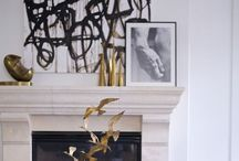 Mantlepieces / Ideas for modern styling of a traditional mantlepiece